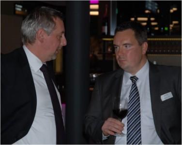 Oliver Grimm (Casino Interlaken) und Björn Zern.