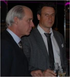 Rudolf Schiesser (Grand Casino Basel) und Jürg Mosimann (Mobimo).