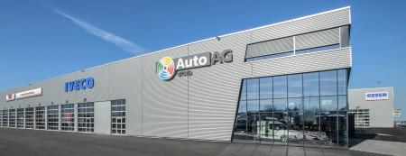 Nutzfahrzeugcenter mit dem Hauptsitz der Auto AG Group